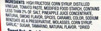 Barbecue Sauce - Ingredients