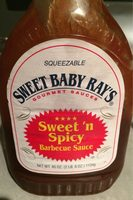 Sweet 'n Spicy Barbecue Sauce - Product