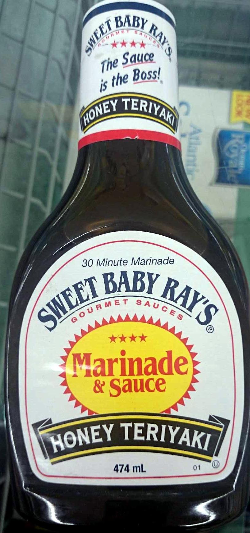Honey Terriyaki Marinade & Sauce - Product - en