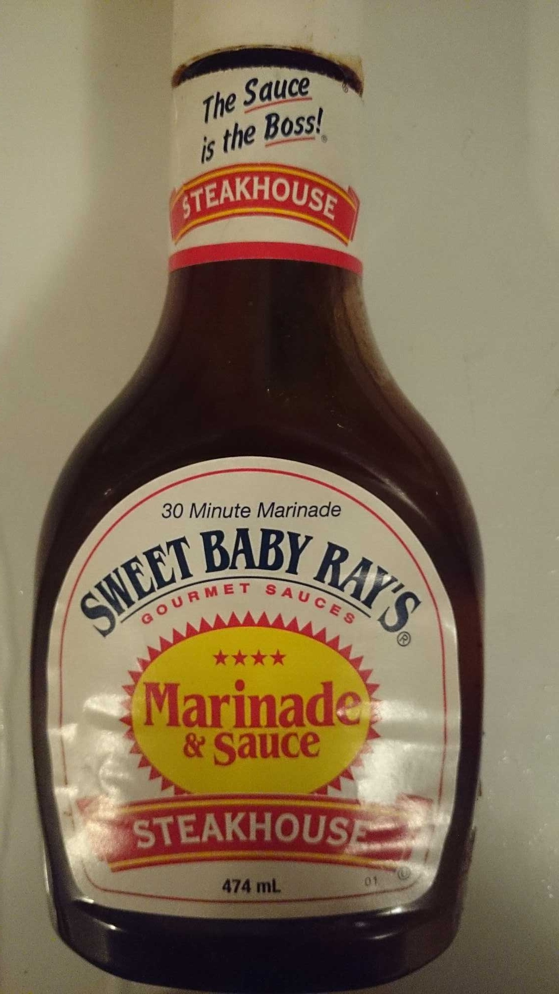 Sweet Baby Rays Steakhouse Marinade & Sauce - Product