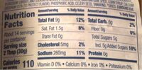 Rays chicken sauce - Nutrition facts - en