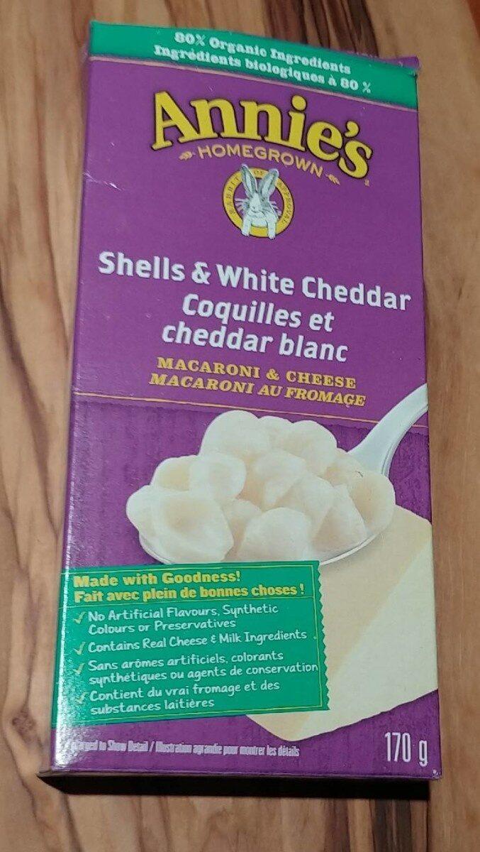 Annie's Shells & White Cheddar Macaroni and Cheese - Produit - en