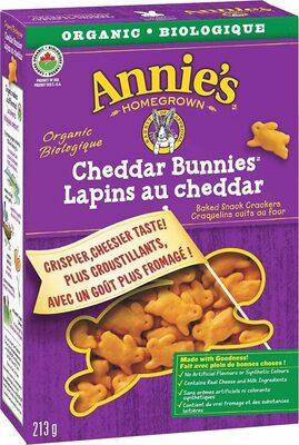 Homegrown bunnies baked snack crackers - Produit - fr