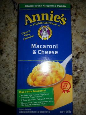 Annie's Classic Cheddar Macaroni & Cheese - 1