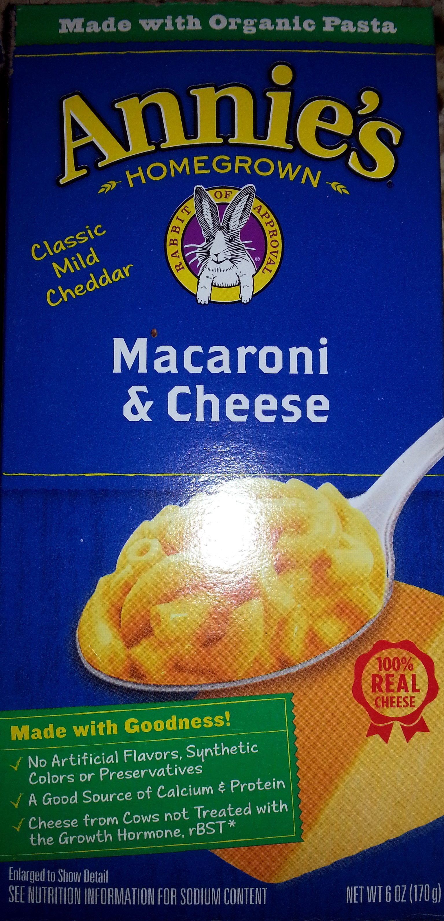 Annie's Classic Cheddar Macaroni & Cheese - Product - en