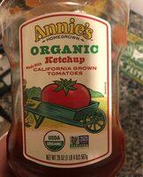 Annie'S Organic Ketchup - Product - en