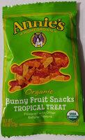 Bunny Fruit Snacks Tropical Treat - Product