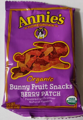 Bunny Fruit Snacks Berry Patch - Product