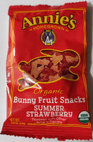 Bunny Fruit Snacks Summer Strawberry - Product