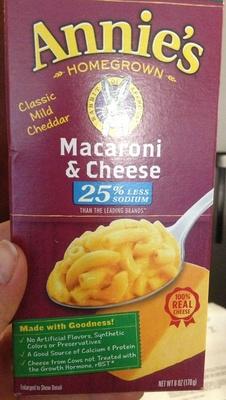 Macaroni & Cheese - Produit
