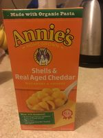 Shells & Real Aged Cheddar Macaroni & Cheese - Product