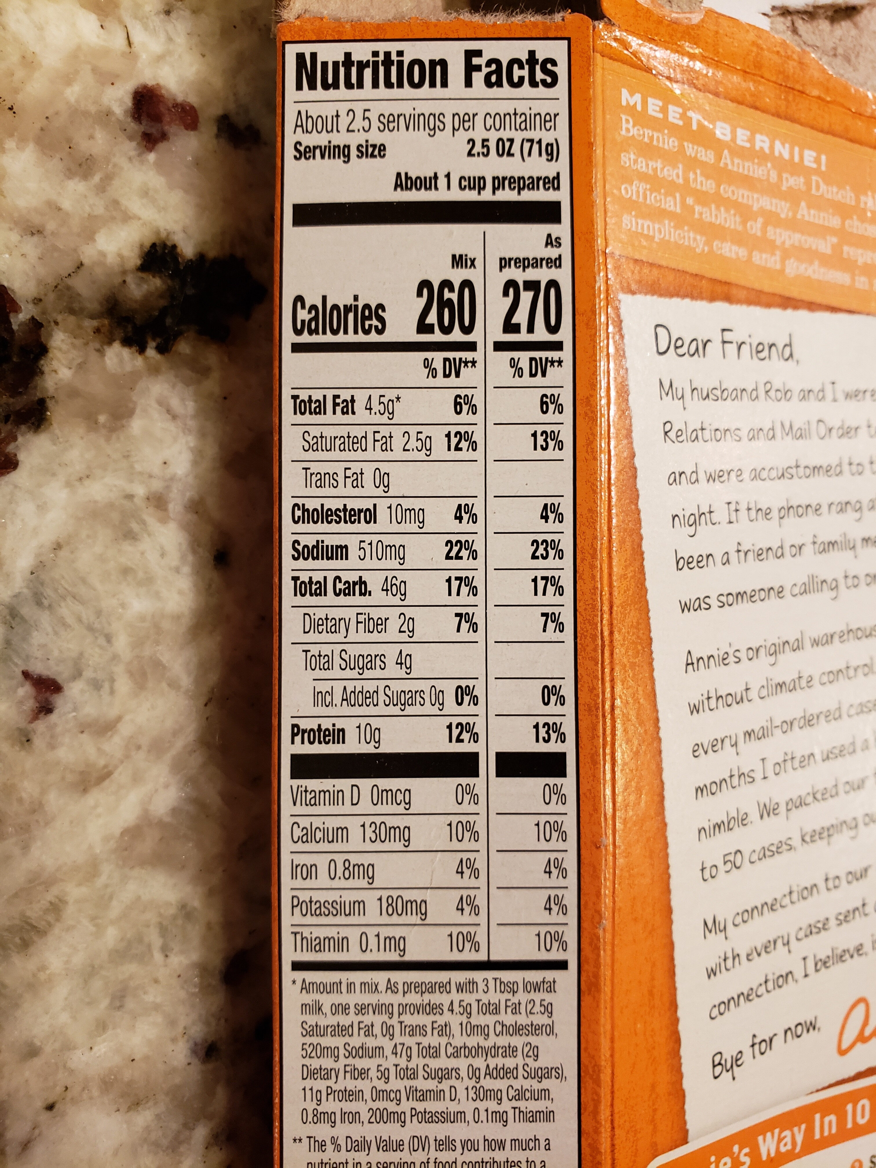 Shells & Real Aged Cheddar Macaroni & Cheese - Nutrition facts