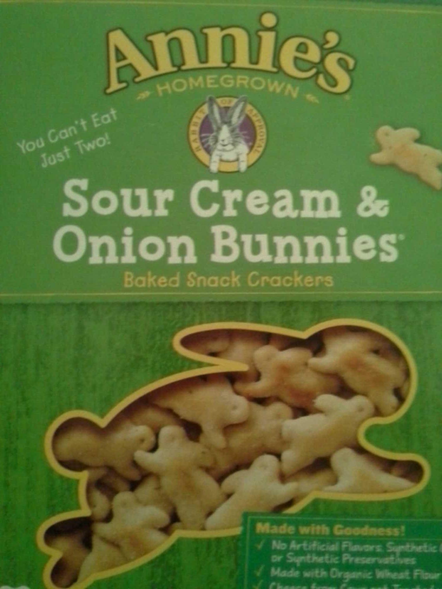 Sour cream & onion bunnies - Product - en