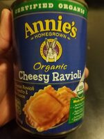 Annie's Homegrown Organic Cheesy Ravioli - Product - en