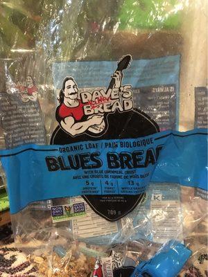Dave's killer bread, blues bread, cornmeal crust - Produit - fr