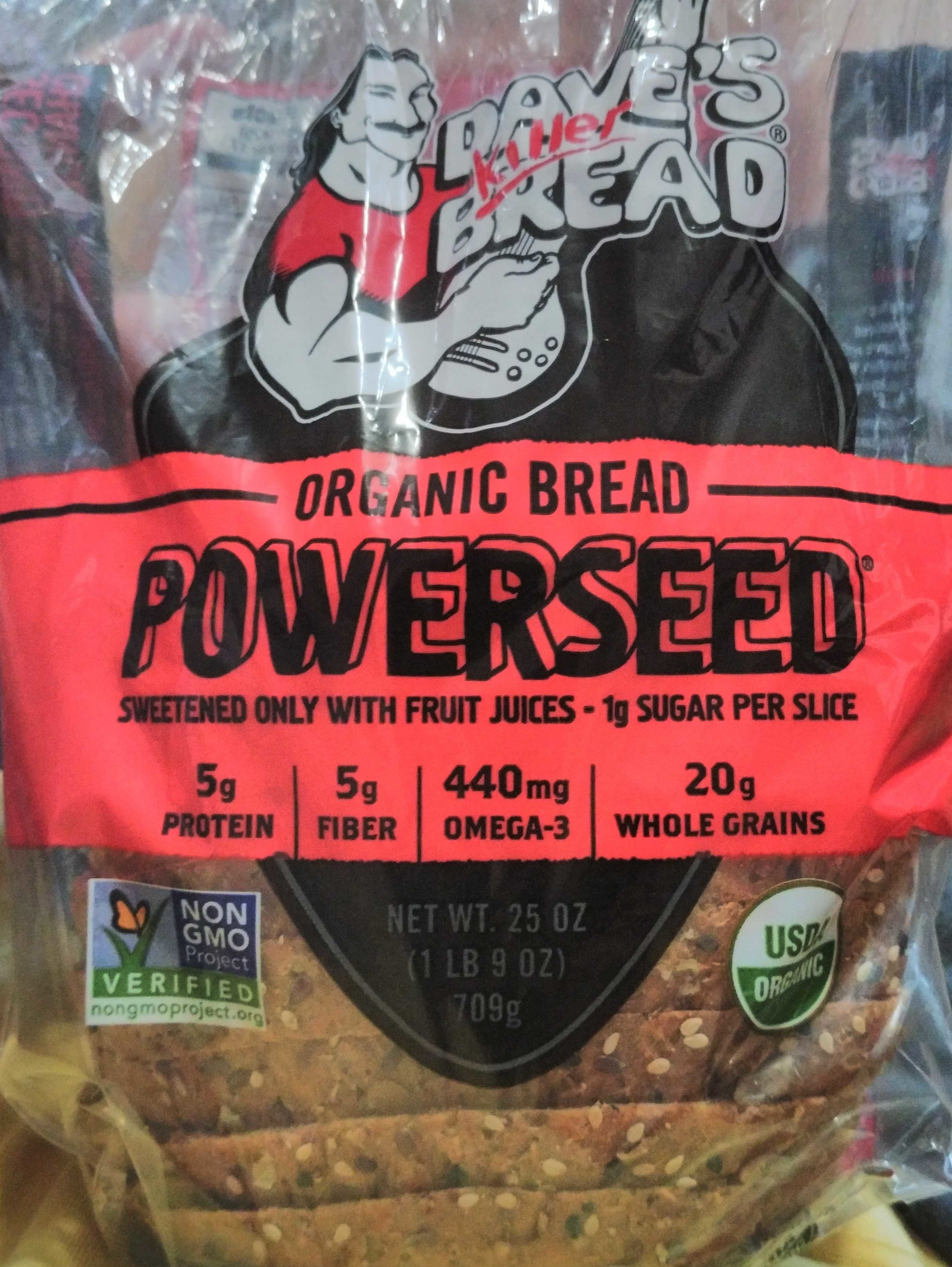 Powerseed (Organic Bread) - Product - en