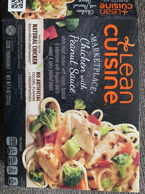 Lean Cuisine Marketplace Chicken with Peanut Sauce - Product
