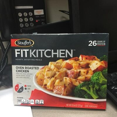 Stouffer's, fit kitchen, oven roasted chicken - Product - en