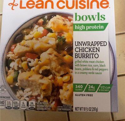 Unwrapped chicken burrito - Prodotto - en