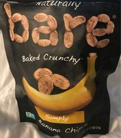 Simply banana chips, simply - Product - en