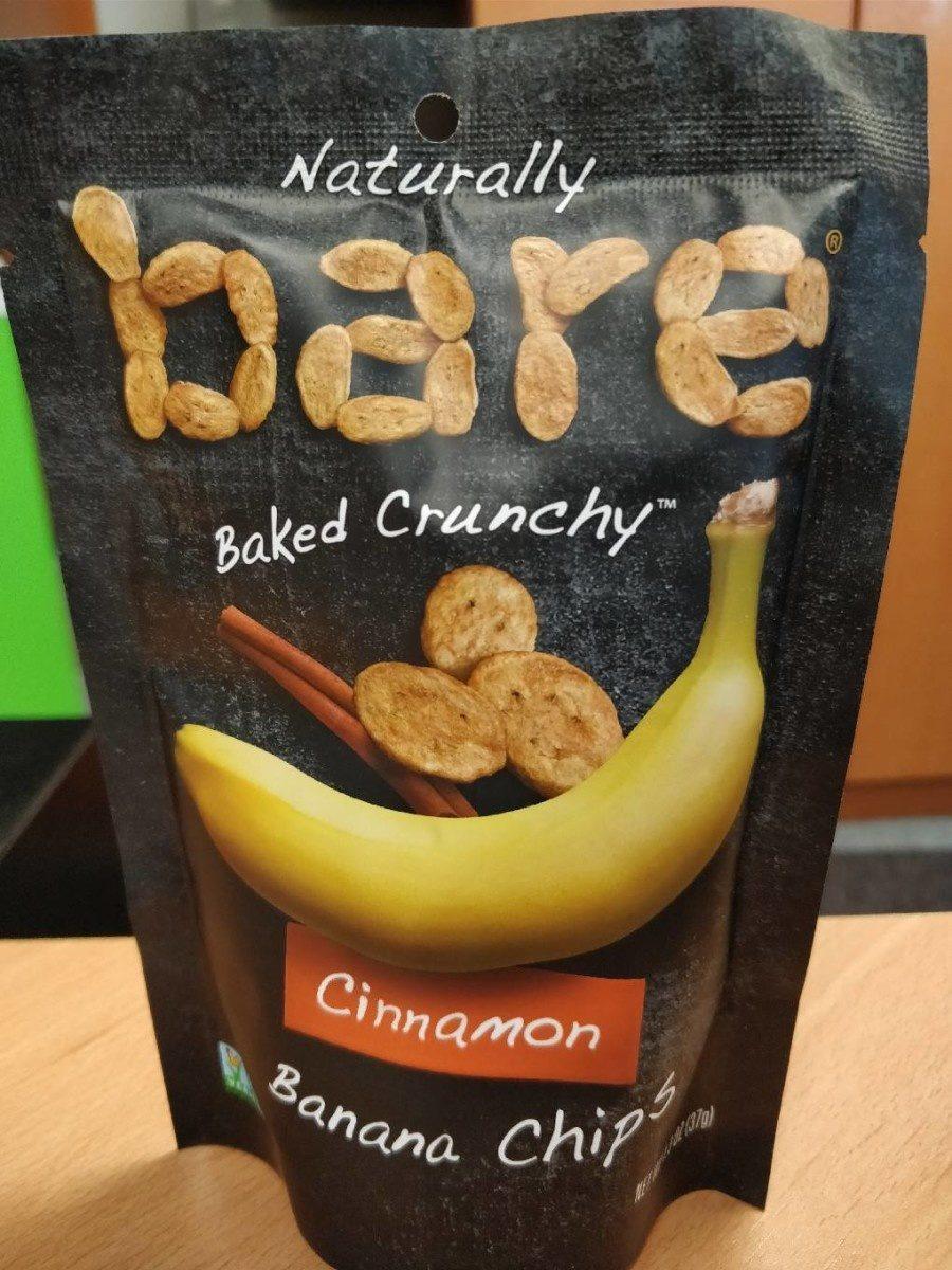 Baked Crunchy Cinnamon Banana Chips - Product - fr