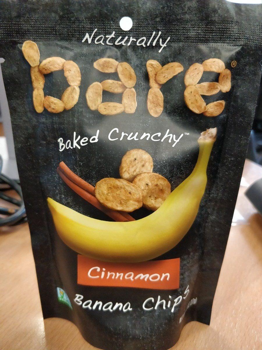 Baked Crunchy Cinnamon Banana Chips - Ingrediënten - fr