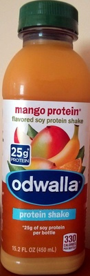 mango protein flavored soy protein shake - Product - en