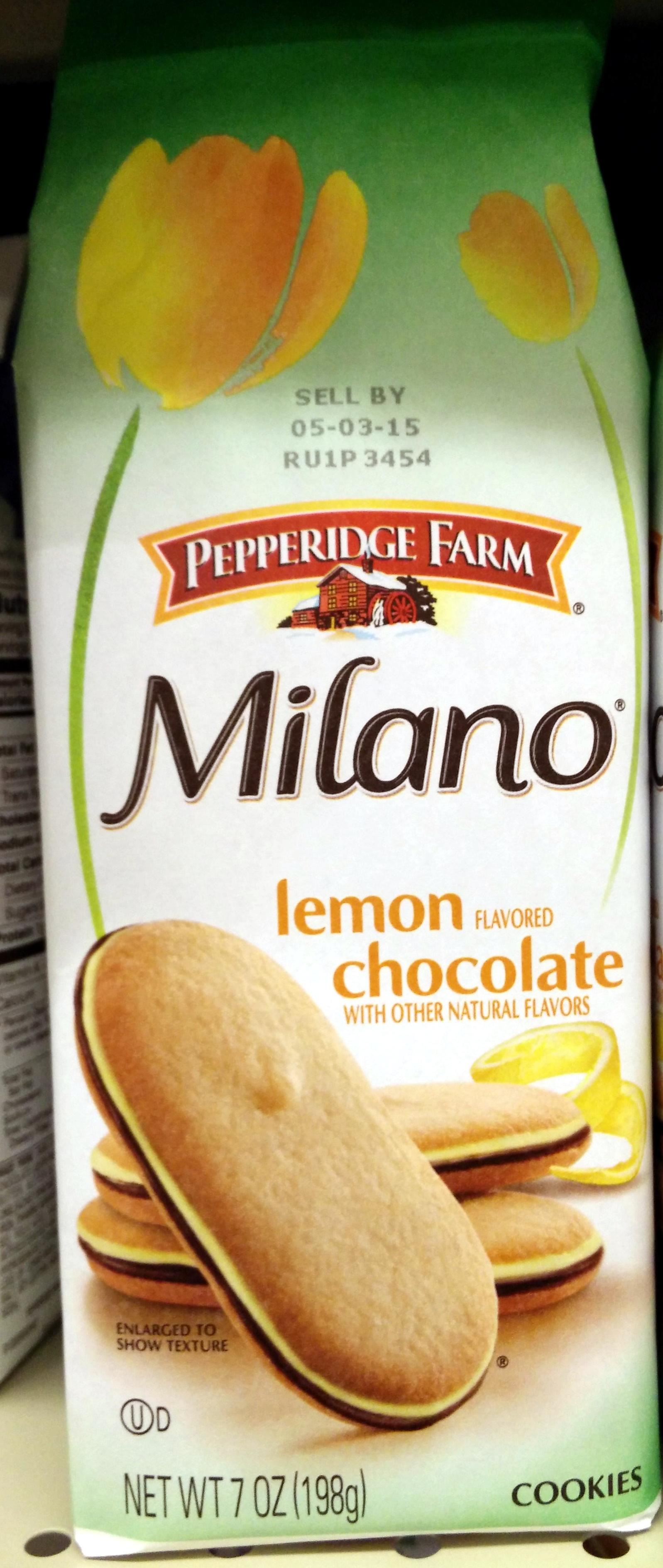 Pepperidge farm cookies lemon - Product - en