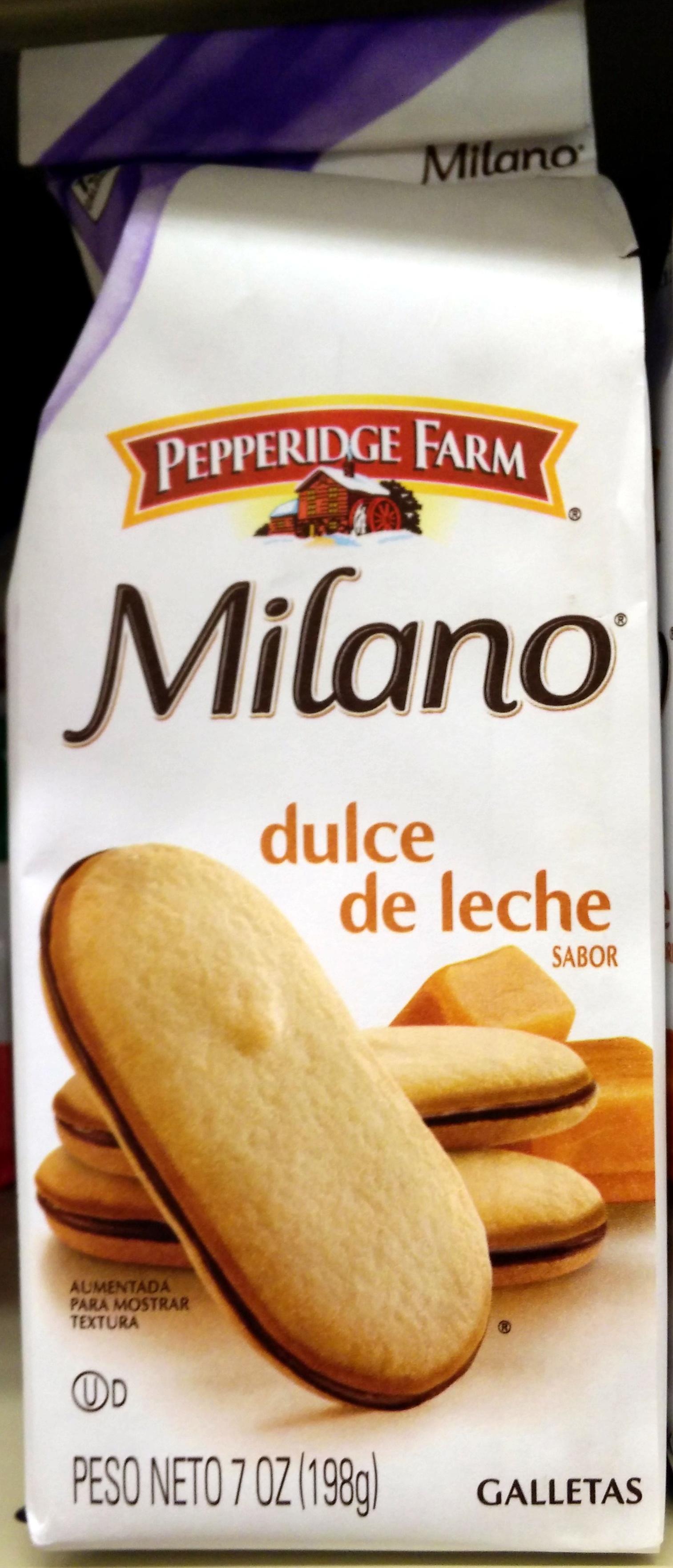 Pepperidge farm cookies dulce de leche - Product - en