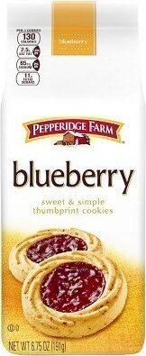 Blueberry thumbprint cookies - Prodotto - en