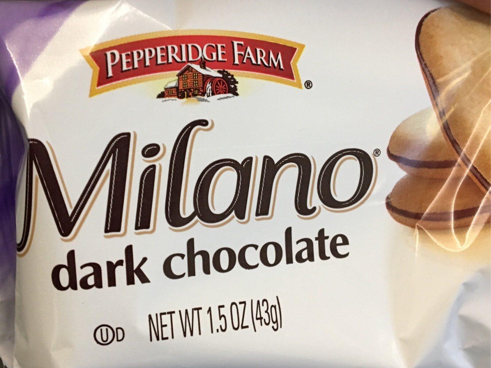 Milano Dark chocolate - Product - en