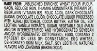 Pepperidge farm cookies milano - Ingrediënten - en