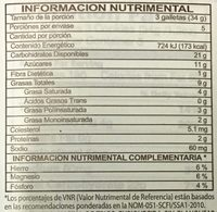 Pepperidge farm cookies milano - Voedingswaarden - en