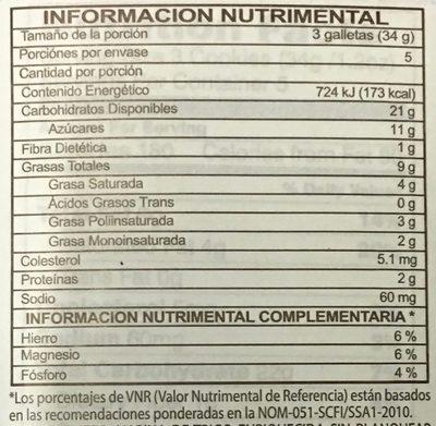 Pepperidge farm cookies milano - Nutrition facts - en