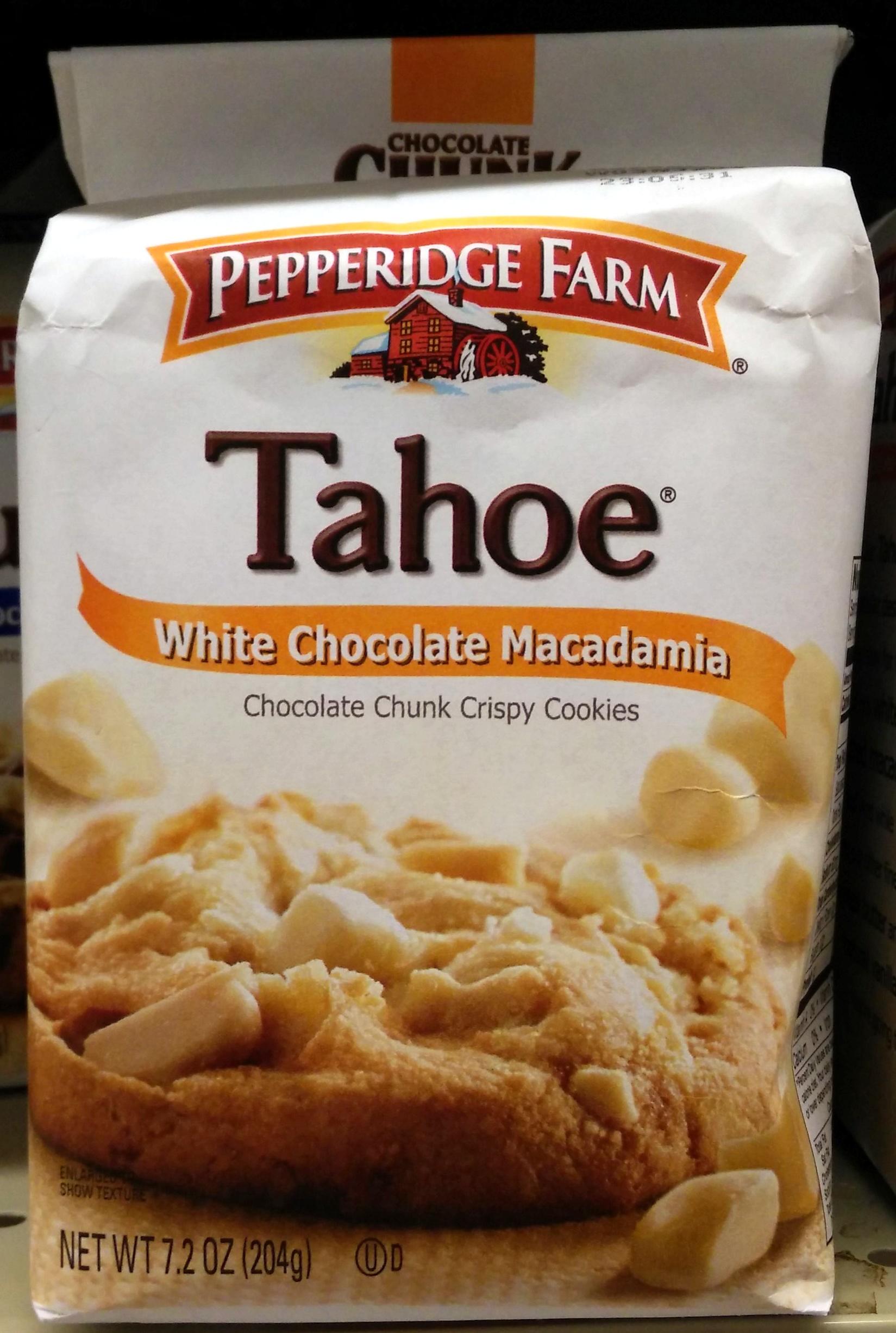 Pepperidge Farm Cookies Wht Choc Macad 7 2 Oz 204 G
