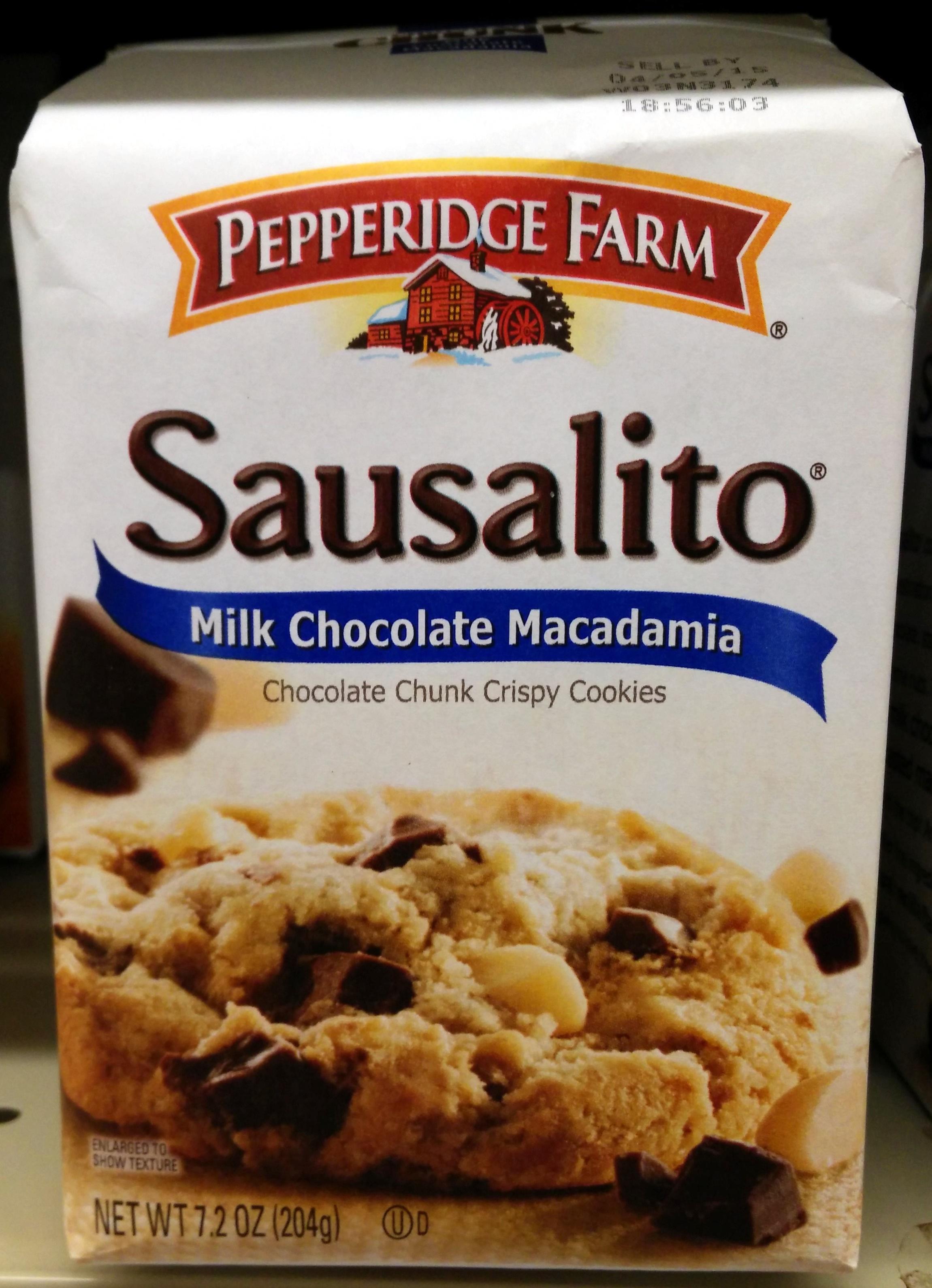Pepperidge farm cookies milk choc - Product - en