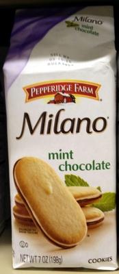 Pepperidge farm cookies mint - Product - en