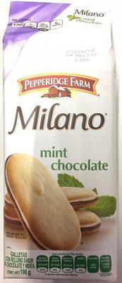 Pepperidge farm cookies mint - Producto - es