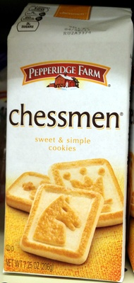 CHESSMEN COOKIES - Product