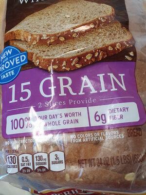Whole grain bread, whole grain - Product - en