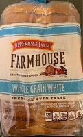 Whole grain white bread, whole grain white - Product - en