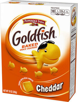 Goldfish baked snack crackers - Product - en