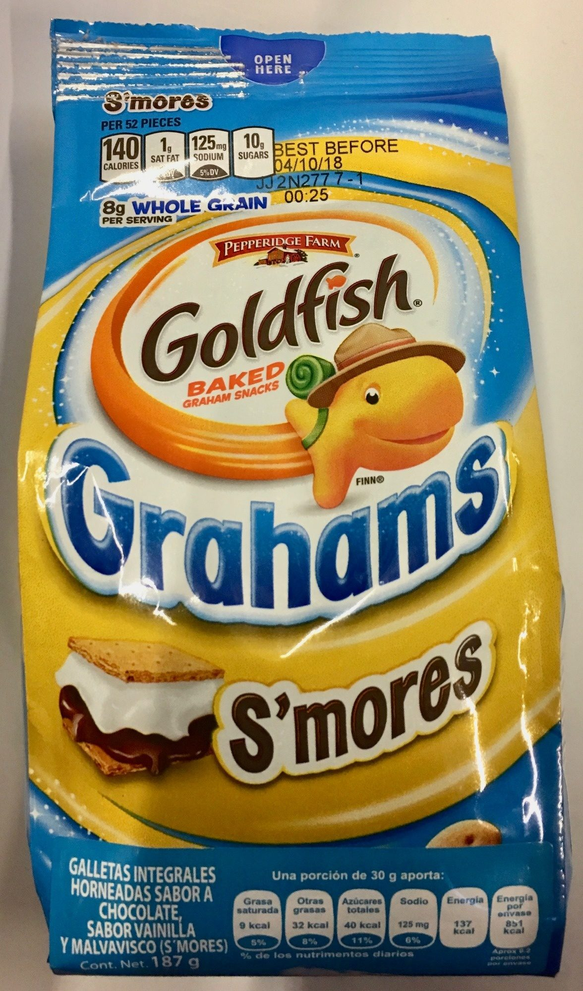Goldfish grahams s'mores - Product - es