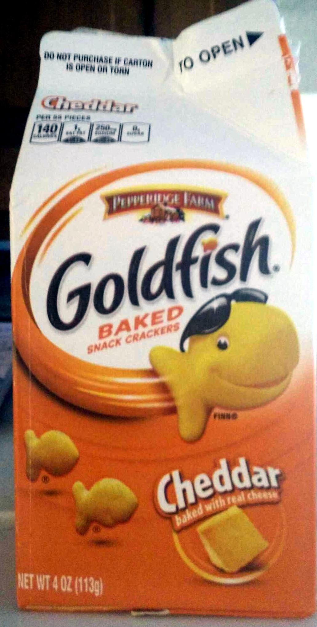 Goldfish au cheddar - Product - en