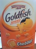 Goldfish baked snack crackers Cheddar - Product