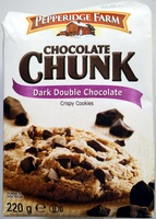 Chocolate Chunk Dark Double Chocolate Crispy Cookies - Prodotto - fr
