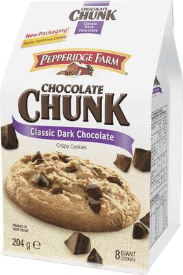 Chocolate chunk classic dark chocolate crispy Cookies - Prodotto - fr