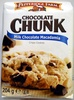 Chocolate Chunk Milk Chocolate Macadamia Crispy Cookies - Product
