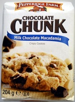 Chocolate Chunk Milk Chocolate Macadamia Crispy Cookies - Product - fr