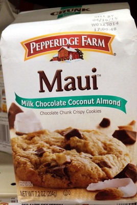 Maui Milk Chocolate Coconut Almond - Product